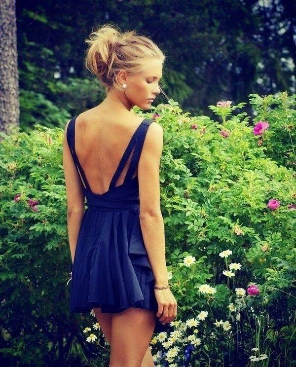 sujetador sin espalda vestido