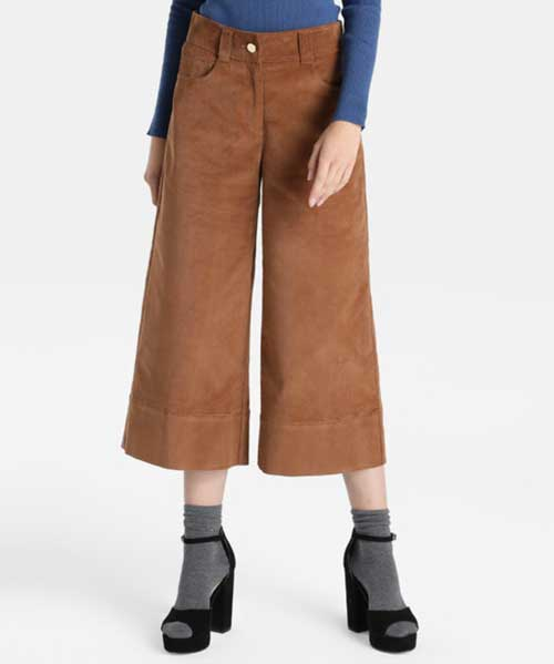 Pantalones culotte Corte Inglés