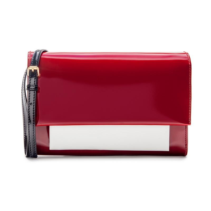 bolso rojo bimba y lola
