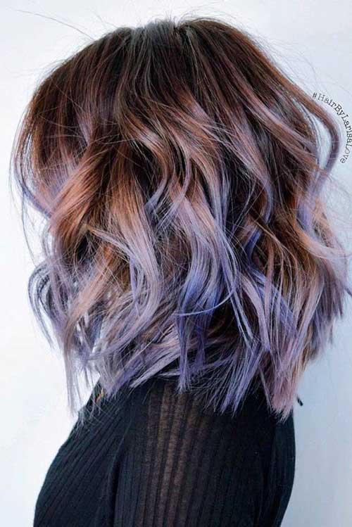 Colores de pelo morado