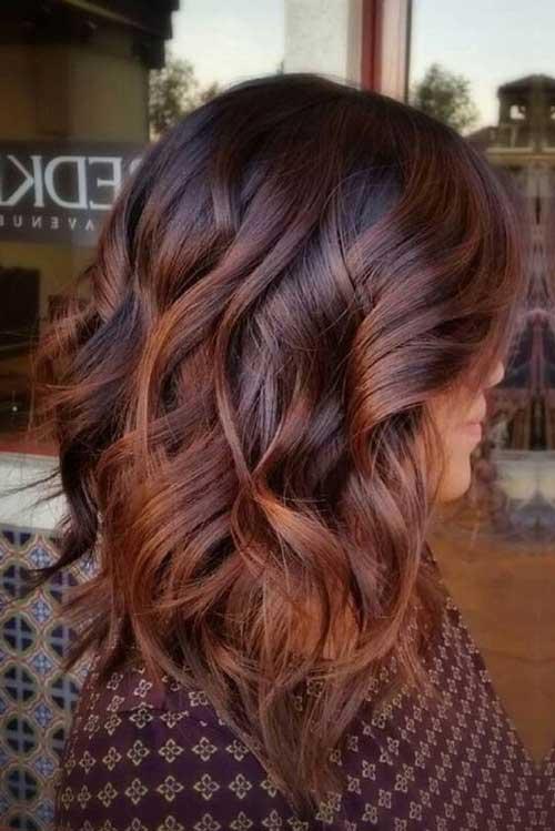 Colores de pelo castaño