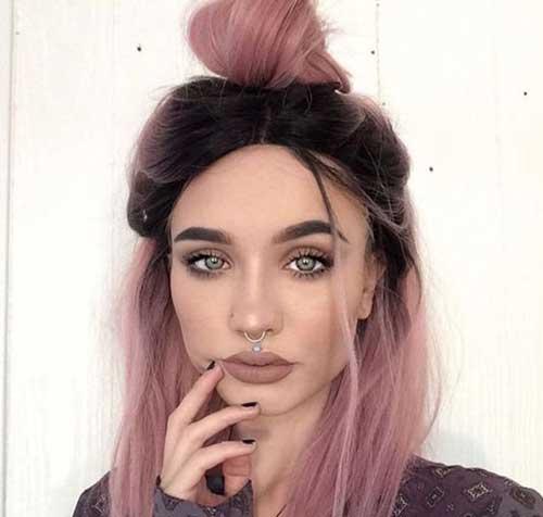 Colores de pelo rosa
