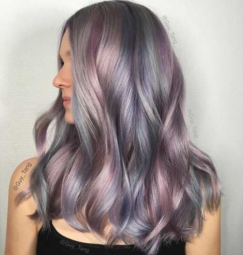 Colores de pelo tendencias 2017