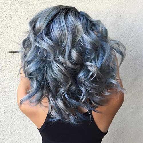 Colores de pelo azul