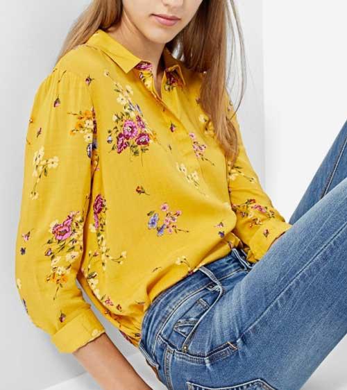 Moda otoño invierno camisas