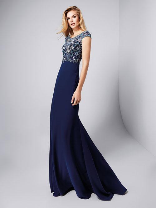 Pronovias 2017 vestidos azul