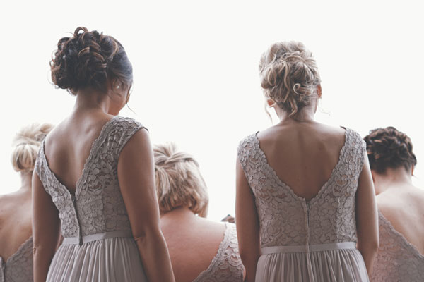 Recogidos fáciles boda