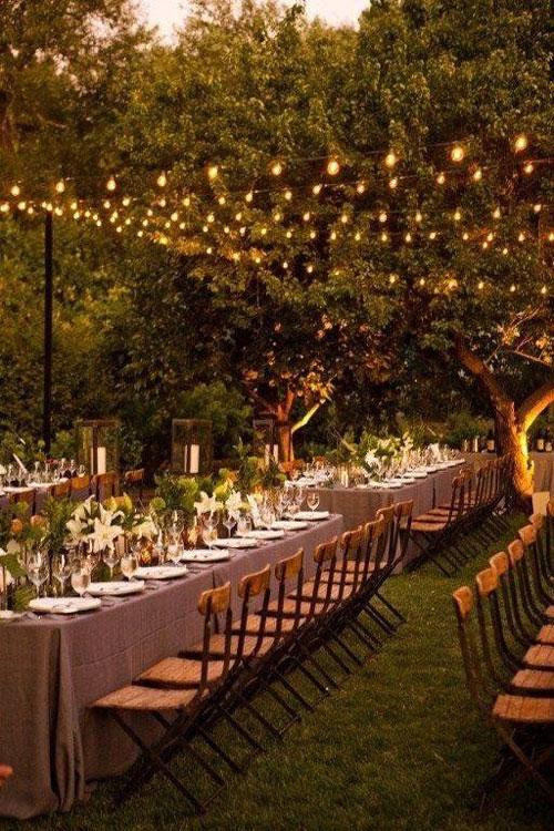 Bodas originales mesas para invitados