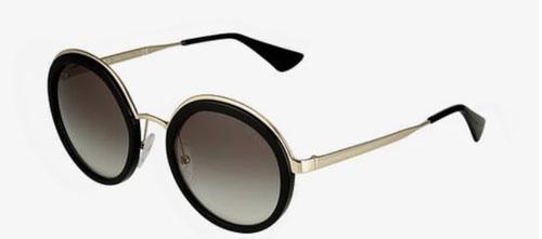Gafas de sol redondas de moda