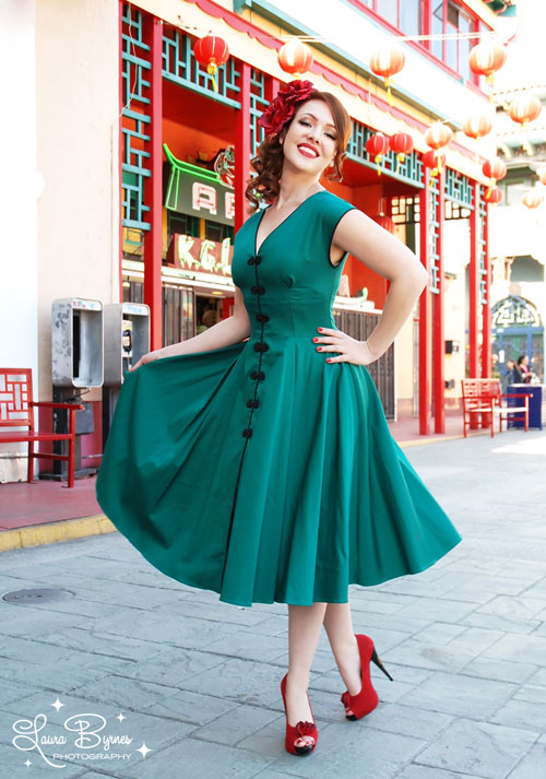 Moda pin up estilo