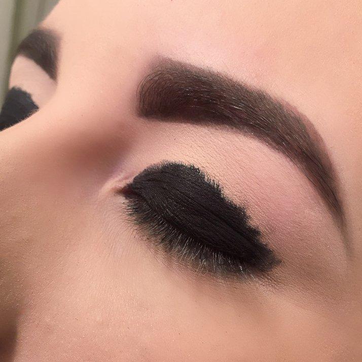Ojos ahumados perfectos