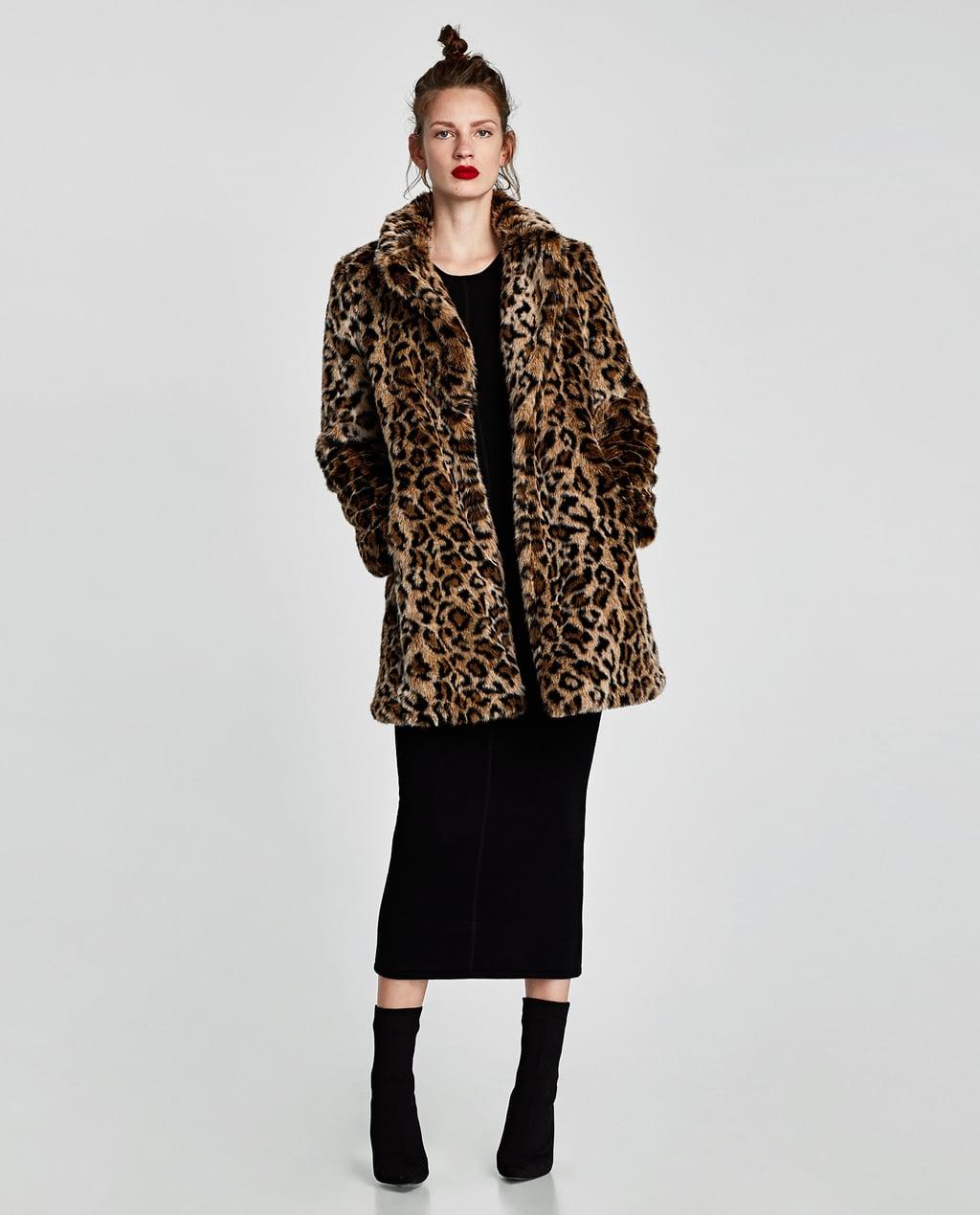 Abrigos de pelo leopardo