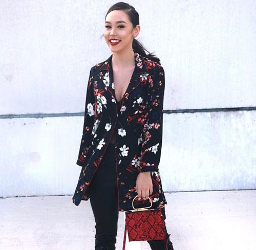 Outfits rojos, detalles en rojo