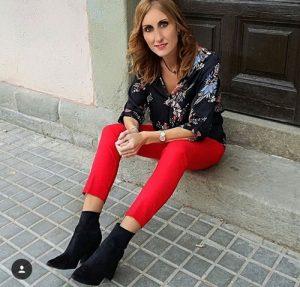 Outfits rojos pantalones rojos