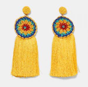 pendientes de moda étnicos