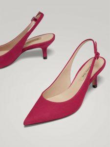 zapatos primavera rosas