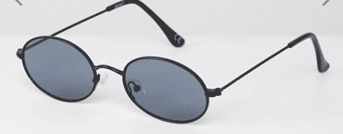 Gafas pequeñas ovaladas