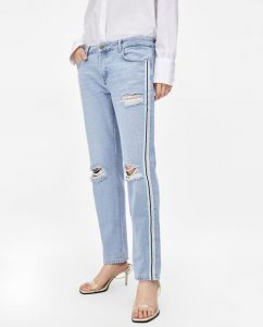 Looks con mom jeans