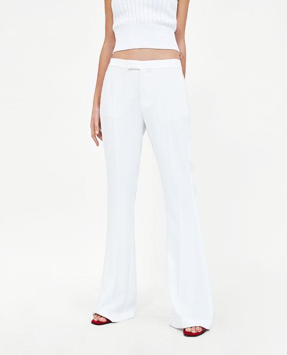 Pantalones de Zara rebajas verano 2018