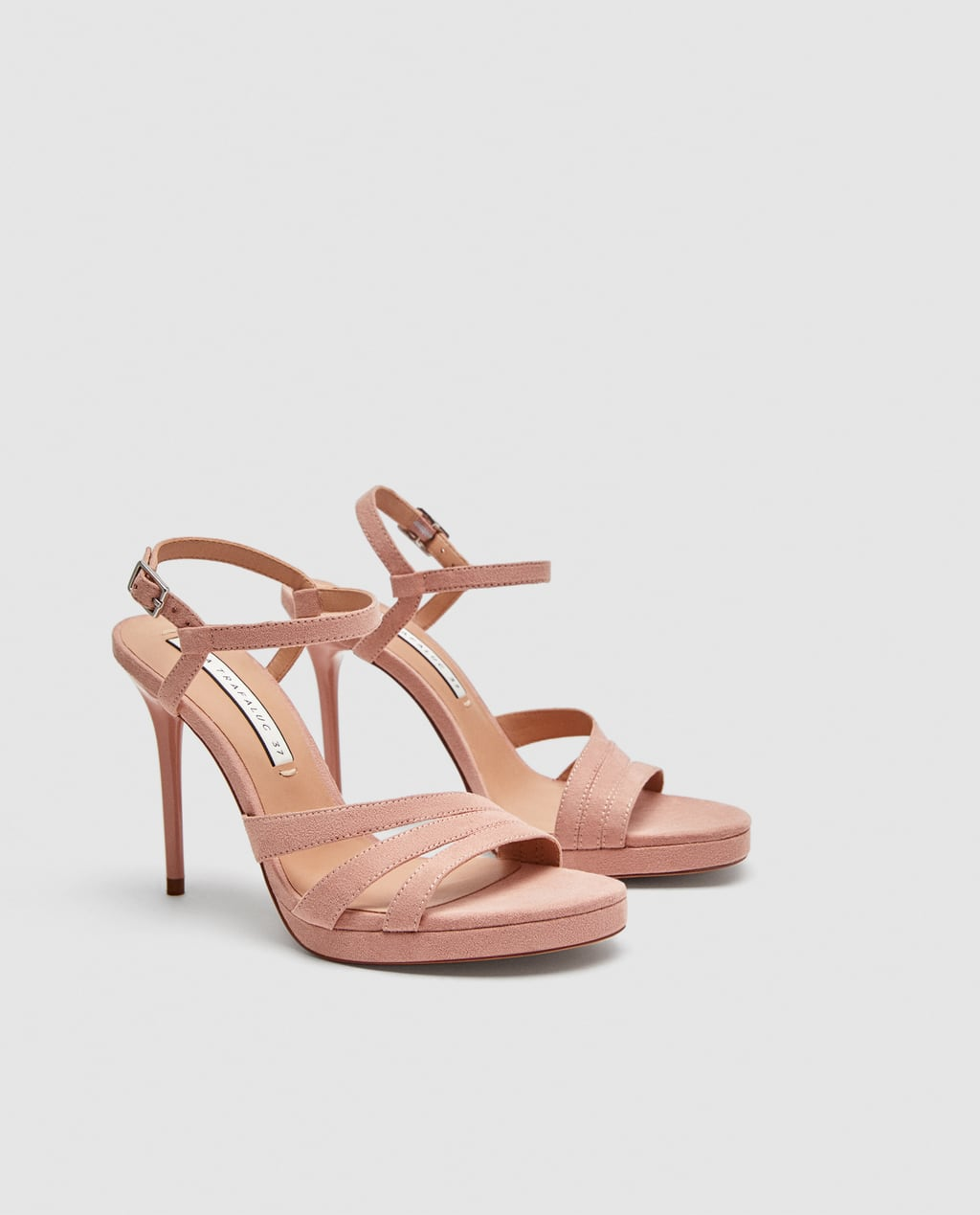 Sandalias nude de Zara rebajas verano