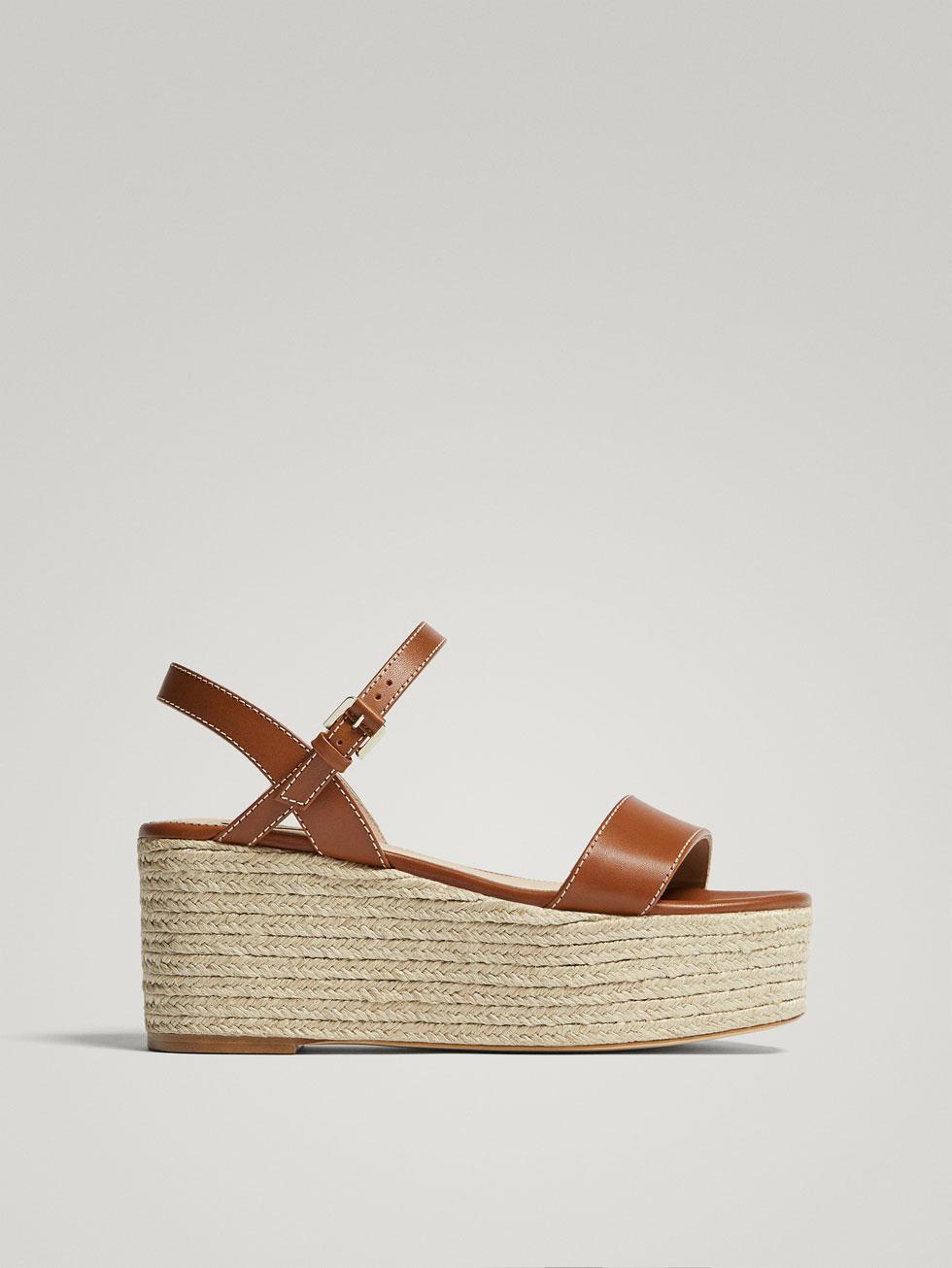 Zapatos de verano cómodos con plataforma