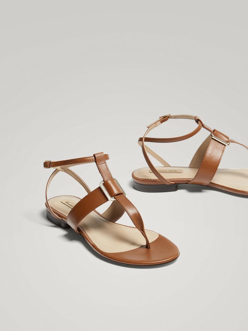 Sandalias de verano cómodos