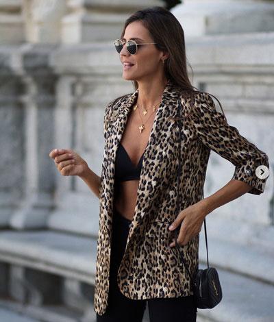 Outfits bonitos con animal print